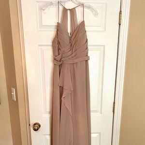 Azazie Taupe Bridesmaid Dress